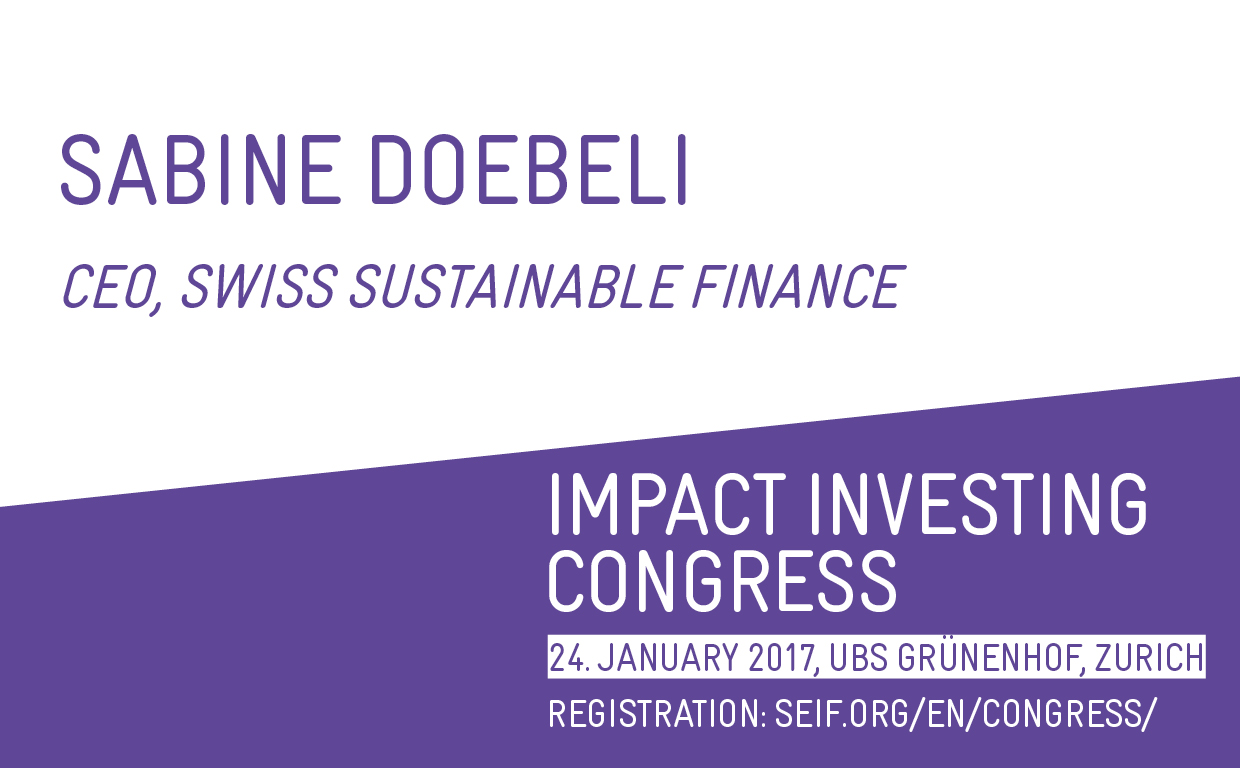 Impact Investing in Switzerland