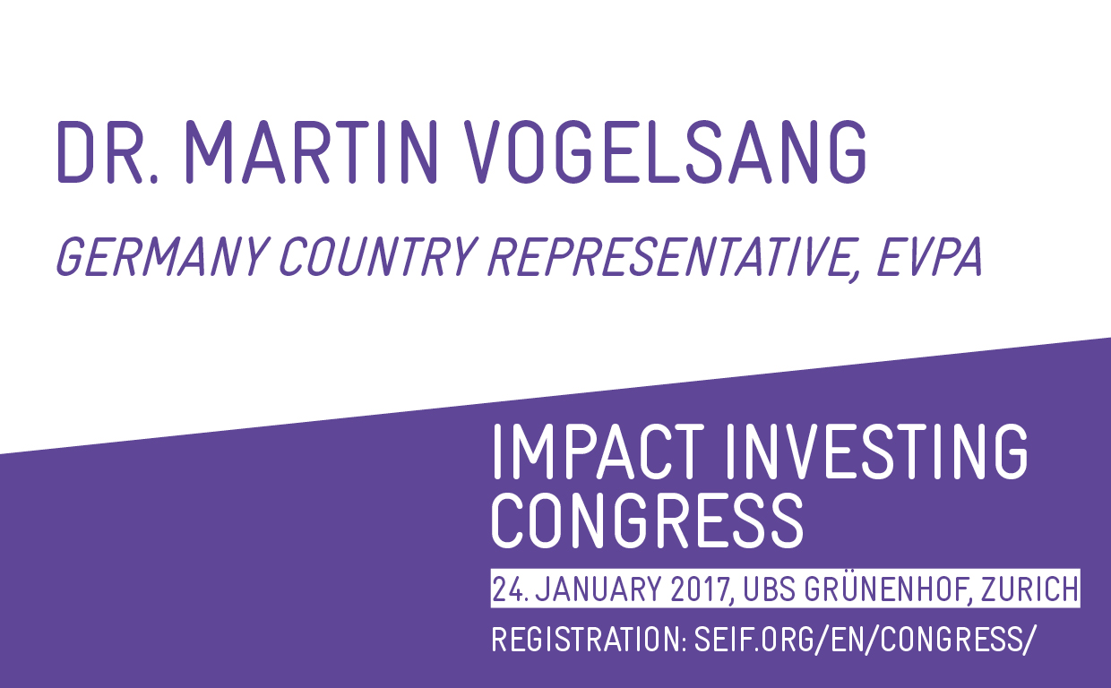 Dr. Vogelsang - Impact Investing DACH Region
